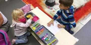 Myšlenka vybudovat prostor pro skupinu dětí vznikla na základě poptávky několika zaměstnanců.