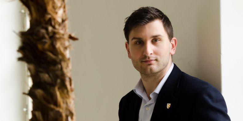 Student právnické fakulty Michal Feigler už byl na soutěži dokonce podruhé.