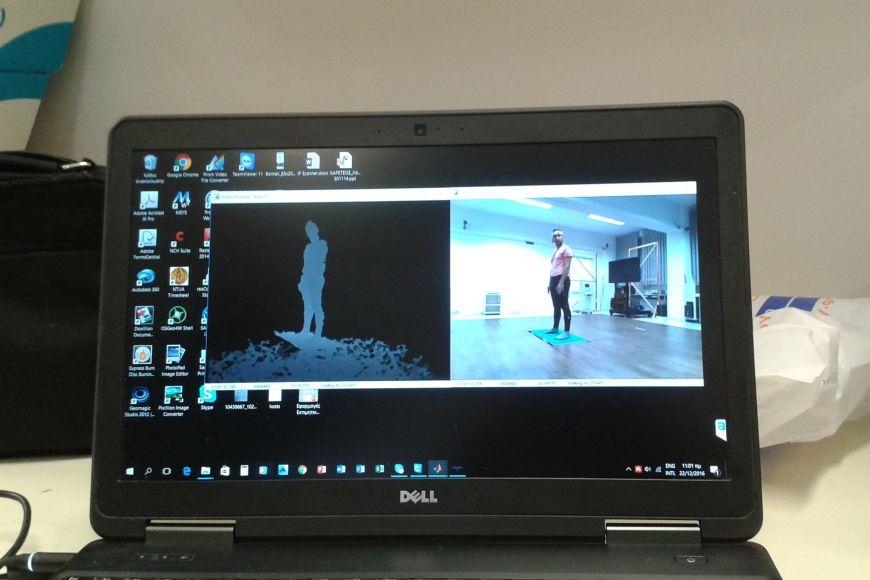 Využití technologie motion capture pro zaznamenaní apočítačové zpracování tance tak, aby se dal převést například do virtuální reality.