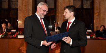 Petr Mrkývka (vlevo) z Právnické fakulty MU.