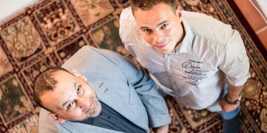 Abdulrahman Adday (vlevo) a Josef Kraus.