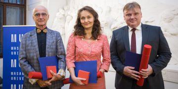 Pavel Matonoha, Maria Králová a Miroslav Chocholatý.