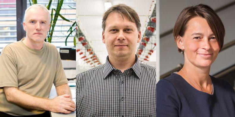 Biochemik Jiří Dostál, informatik Jiří Barnat a právnička Lenka Dobešová.