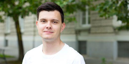 Nikita Minin na Muni strávil semestr na bakalářském studiu a město si zamiloval natolik, že se sem vrátil na celého magistra.