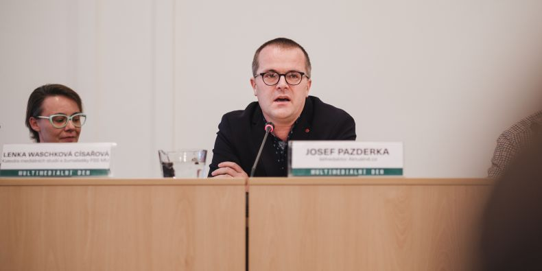 Šéfredaktor Aktuálně.cz Josef Pazderka.