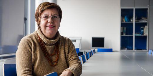 Profesorka Alexandra Šulcová.