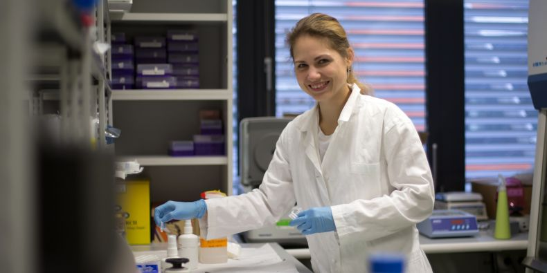 Gabriela Pavlasová graduated in molecular biology and genetics at the MU Faculty of Science and is now working towards her PhD at the MU Faculty of Medicine.