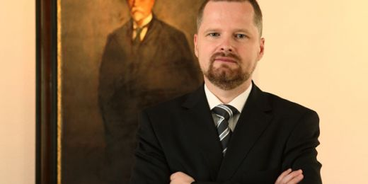 Sedmačtyřicetiletý politolog Petr Fiala působí na Masarykově univerzitě jako prorektor pro akademické záležitosti. Foto: Archiv MU.