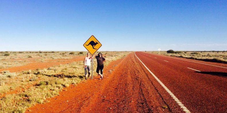 Zuzana Notovná procestovala kus Austrálie a s úsměvem říká, že toho viděla mnohdy víc než místní.