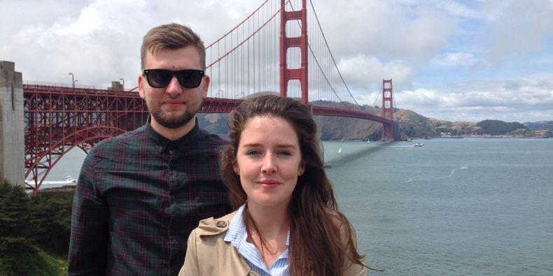 Petr Střítežský a Zuzana Motyková strávili měsíc v San Franciscu.
