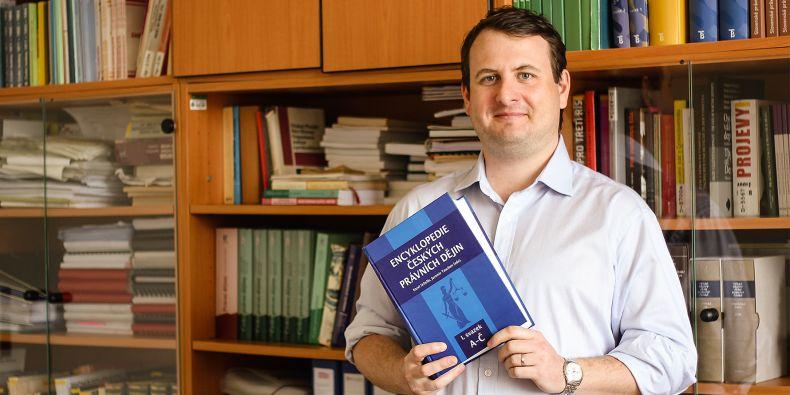 Jaromír Tauchen z právnické fakulty.