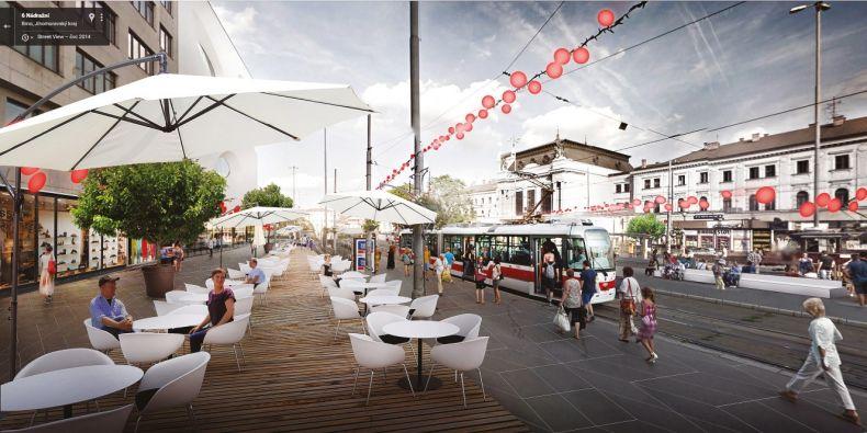 Jedním z často se opakujících míst, o jehož úpravu by Brňané stáli, je prostor před hlavním nádražím.