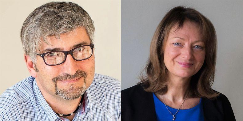 Two new vice-rectors: Simona Koryčánková and Martin Kvizda