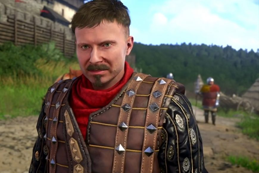 Jedna zklíčových postav hry, purkrabí ze Skalice, Racek Kobyla.