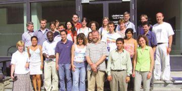 Účastníci Letní školy environmentální chemie a ekotoxikologie