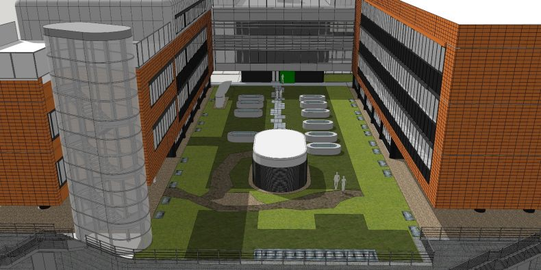 The construction of the new bank and laboratories is due to start this year; they will be finished in the spring of 2019.