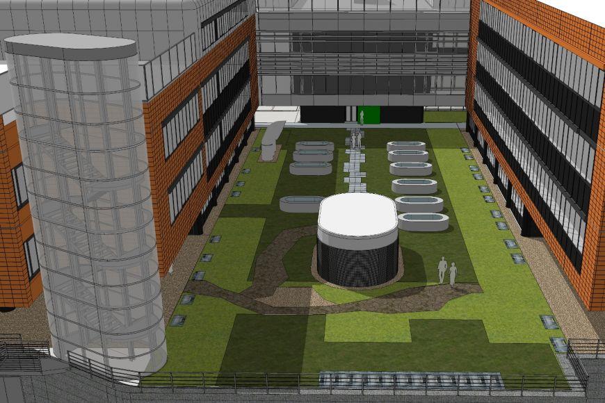 Stavba biobanky má být hotová na jaře 2019. P? jde obudovu se dvěma podzemními patry, kde budou kromě skladovacích zařízení inové laboratoře.