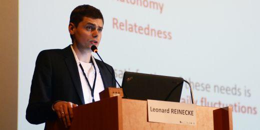 Psycholog Leonard Reinecke z Univerzity Johanesse Guttenberga v německé Mohuči.