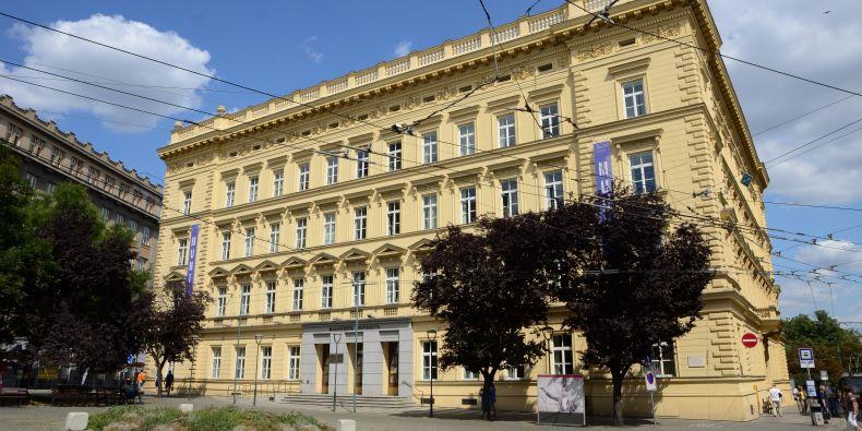 Současné sídlo rektorátu Masarykovy univerzity.