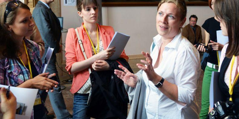 Bavorští novináři nabízí každoročně svým mladým kolegům ze střední a východní Evropy třítýdenní školení jen za několik desítek Euro. Foto: Veronika Tomanová.