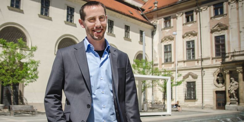 Roye Mauthner, great-grandson of Viktor Mauthner, who was deported to Terezín from Prague.