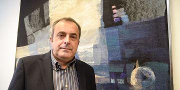 Současný děkan ESF a jediný kandidát pro další funkční období Antonín Slaný.