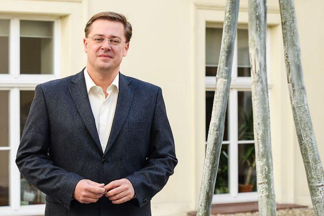 Sociolog Michal Vašečka z FSS byl proti rozdělení federace. Foto: Martin Kopáček.