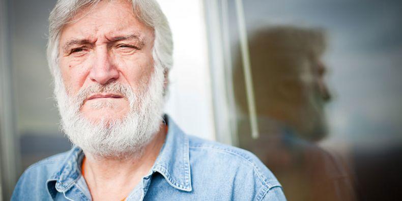 Básník a učitel Vít Slíva. Foto: Ondřej Surý.