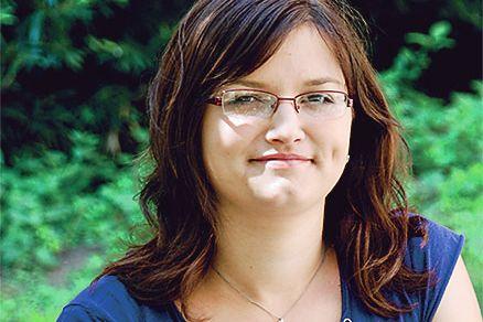 Hana Šimková, 20let, Provodov, PdF, Pedagogické asistentství dějepisu aobčanské výchovy. Foto: Monika Hořínková.