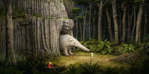 Ukázka ze hry Samorost 3.