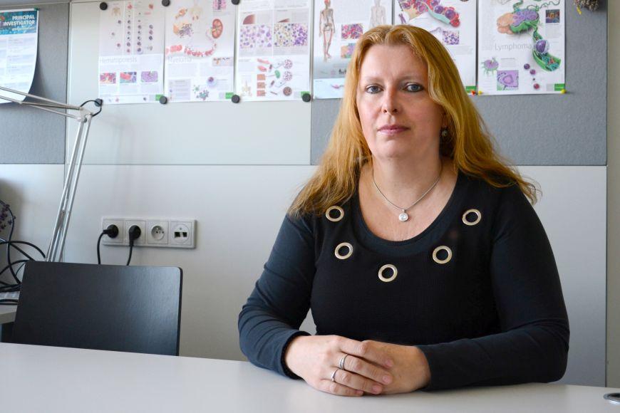 Prorektorka MU pro výzkum adoktorské studium Šárka Pospíšilová.