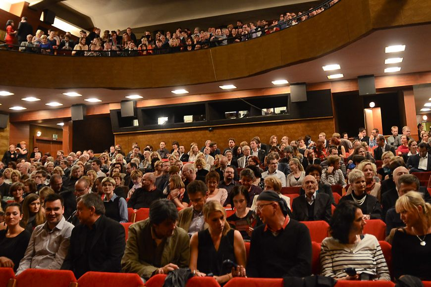 Hlediště Univerzitního kina Scala.
