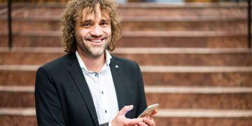 Alexander Schouten, který působí na nizozemské Tilburg University, přijel na brněnskou konferenci Cyberspace.