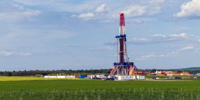 Těžba břidličného plynu v Polsku.