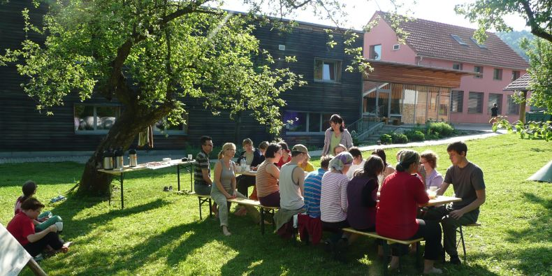 Centrum Veronica i celá obec Hostětín je známá ekologickými projekty.
