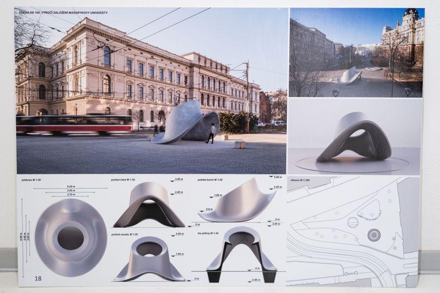 Vítězný návrh londýnského studia Jakub Klaska LTD.