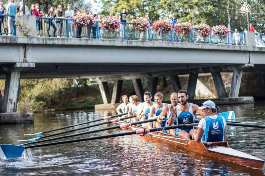 Yes, we also row in Brno.
