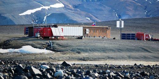 Antarktická stanice J. G. Mendela provozovaná Masarykovou univerzitou na ostrově Jamese Rosse.