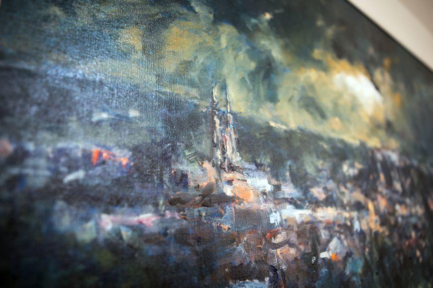 Sedláček maluje místa typická pro Brno.