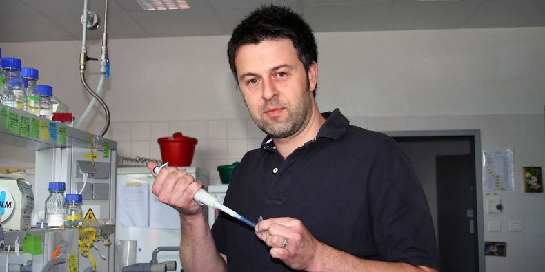 Richard Štefl se zabývá studiem RNA.