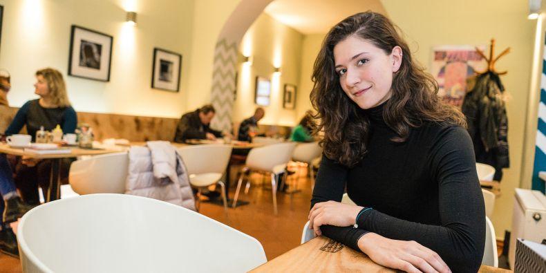 Studentka Lékařské fakulty MU Emma Jurkovičová.