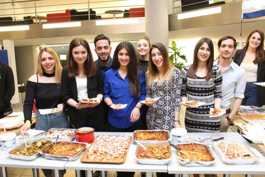 Very popular thing, country presentations of international students.
