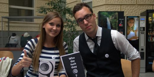 Studentské Rádio R hledá nové moderátory každý semestr.