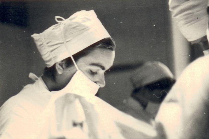 I když je dnes Táborská známou anestezioložkou, začínala jako chirurg av oboru byla aktivní deset let.