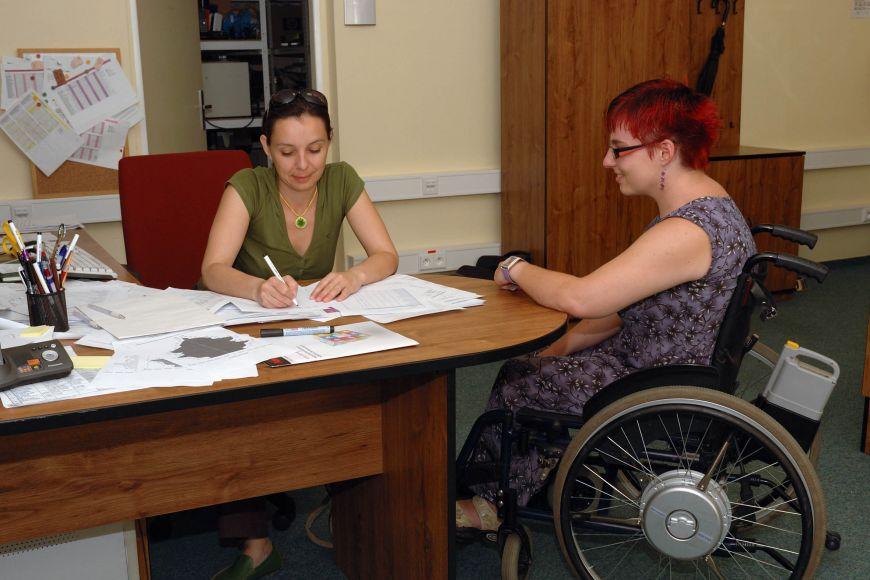 Středisko Teiresiás pomáhá studentům se specifickými nároky.