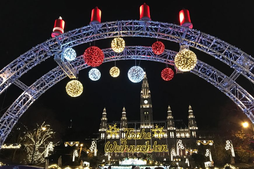 Christmas markets in Vienna are just: wow!