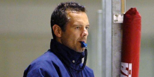 Hokejový kouč Jan Zachrla.