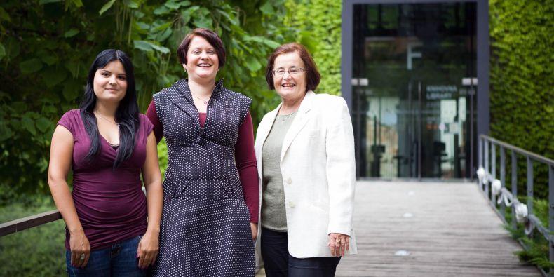 Tři generace žen z jedné rodiny šly studovat český jazyk na Filozofickou fakultu MU.