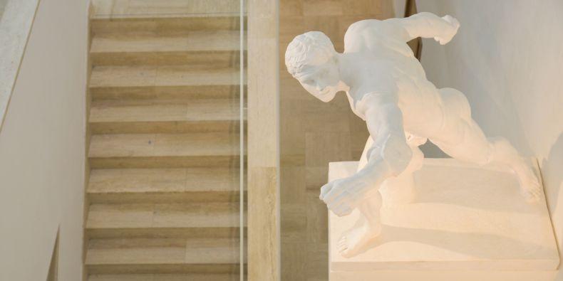 Bojovník Borghese – bránící se pěší válečník.