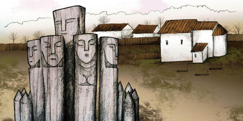 Znázornění lokality Pohansko u Břeclavi.